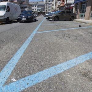 A zona azul volverá a habilitarse en Carballo o 1 de xuño si Galicia pasa finalmente á fase 2