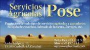Servizos Agrícolas Pose, SL